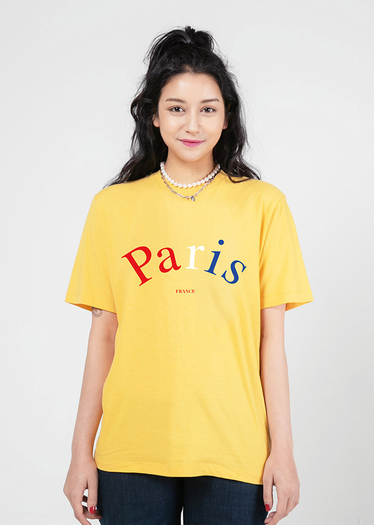 PARIS YELLOW(COLOR LOGO)