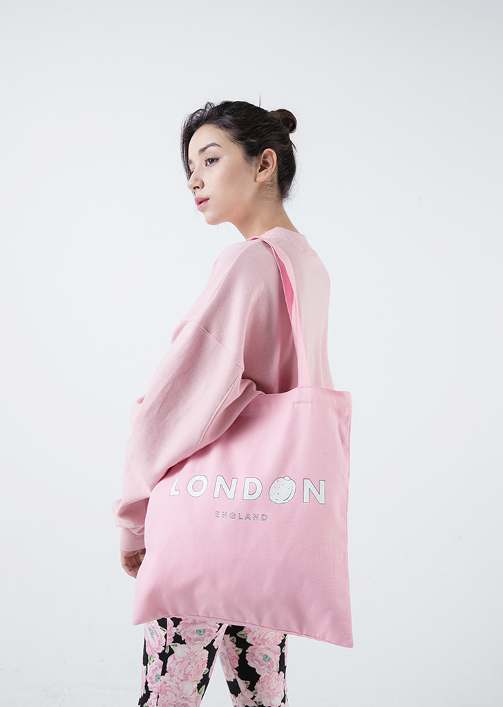 LONDON ECHO BAG (PINK)