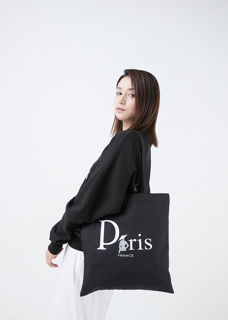 PARIS ECHO BAG(BLACK)